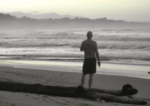 Ken beach B&W