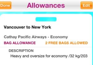 Allowances