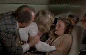 Airplane panic attack