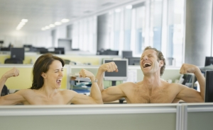 Office nudists