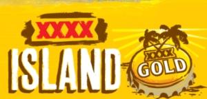 XXXX Island gold cap