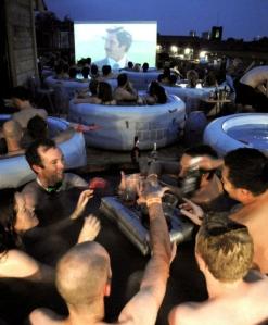 Hot Tub Cinema Anchorman