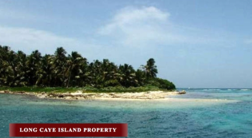 Long Caye Island
