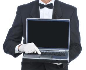 Laptop butler