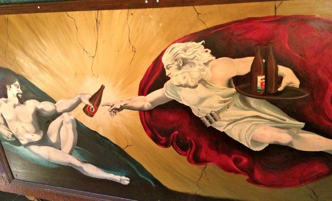 Sexiest bar mural